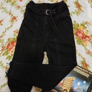 Forever 21 Contemporary | Retro Paper Bag Jeans